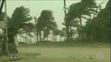 Imagens mostram a destruição provocada pelo furacão Irma pelo Caribe - Ao menos cinco pessoas morreram vítimas das consequências do fenômeno que atingiu também a Flórida, na costa dos EUA.