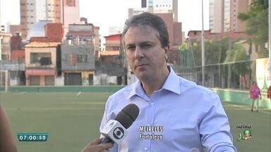 Projeto areninhas de Fortaleza ganha expansão para outras cidades do interior do Ceará - Saiba mais em g1.com.br/ce