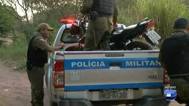  Moto é encontrada pela polícia no bairro Santo André - Investigação foi iniciada para saber se o veículo era usado em assaltos no município.