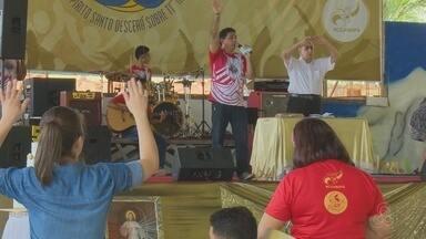Mais de mil fiéis participam das comemorações do 'Jubileu de Ouro' de grupo católico no AP - A Renovação Carismática Católica (RCC) está há quase 30 anos atuando no Amapá. A programação terminou no domingo (10).