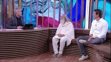 Reynaldo Gianecchini relembra viagem a Índia - Sri Prem Baba explica que não segue uma religião, mas uma filosofia prática de vida