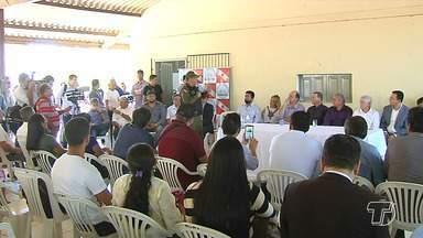 Coleta de assinaturas marca anúncio oficial da implantação do 35° BPM, em Santarém - Cerimônia reuniu representantes de órgãos públicos para a coleta de assinaturas. A sede deve ser entregue até dezembro.