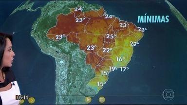 Calor marca o último final de semana de inverno em grande parte do Brasil - O último fim de semana do inverno vai continuar quente e sem grandes mudanças no tempo. Confira a previsão do tempo para todo país.