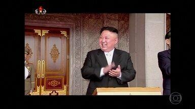 Coreia do Norte desafia e dispara novo míssil que atravessa o Japão - Japoneses foram acordados com alertas no celular e por alto-falantes. Coreia do Sul responde com simulação de ataque ao vizinho do Norte.