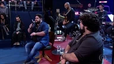 César Menotti e Fabiano contam que já fizeram show em um presidio - Os dois se divertem relembrando o caso