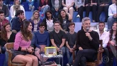 Otaviano Costa conta que o programa 'Amor & Sexo' apimentou relação com Flávia Alessandra - Flávia ainda brinca sobre situações engraçadas em função do programa