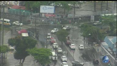 Veja imagens do trânsito no Cabula e nas avenidas ACM, Bonocô, Jequitaia e Oscar Pontes - Confira no Radar do JM.