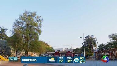 Confira a previsão do tempo para esta terça-feira (19) - Calorão continua em Mato Grosso do Sul. Veja dicas para se sentir melhor com temperaturas tão altas.