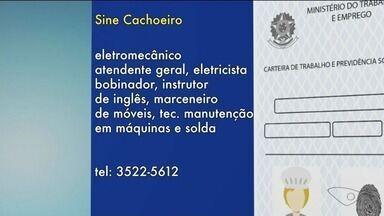 Sine de Cachoeiro de Itapemirim, ES, tem vagas de emprego abertas - Entre as vagas, há oportunidades para eletromecânico, atendente geral, eletricista bobinador, instrutor de inglês, etc.