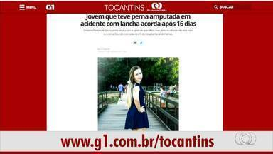 Confira os destaques do G1 Tocantins desta terça-feira (19) - Confira os destaques do G1 Tocantins desta terça-feira (19)