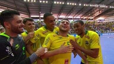 Os gols de Brasil 7 x 1 Uruguai pelo desafio internacional de Futsal - Os gols de Brasil 7 x 1 Uruguai pelo desafio internacional de Futsal