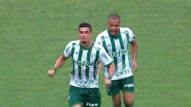 O gol de Fluminense 0 x 1 Palmeiras pela 25ª rodada do Brasileirão 2017 - Egídio marcou o único gol da partida com um belo chute de fora da área no 1º tempo.