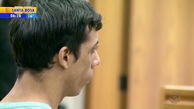 Homem é condenado a 42 anos de prisão por matar e estuprar menina em Erechim - Pena de Marco Antonio da Rosa, 27 anos, é por homicídio qualificado, estupro, vilipêndio a cadáver, por ter abusado do corpo quando a criança estava morta, e ocultação de cadáver.