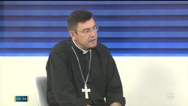 Novo bispo de Campo Maior fala sobre chegada no Piauí - Novo bispo de Campo Maior fala sobre chegada no Piauí