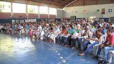 1ª romaria do Cerrado é realizada em Balsas - A preservação dos rios e córregos é um dos temas mais discutidos.