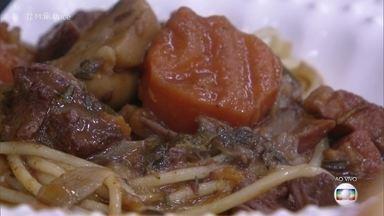 Músculo Chique com Legumes - Ana Maria mostra delícia para sua refeição!