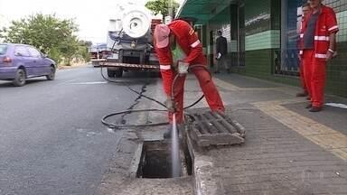 Prefeitura de BH intensifica ações de limpeza em pontos sujeitos a alagamento - Entre os pontos está a Avenida Prudente de Morais, na Região Centro-Sul.