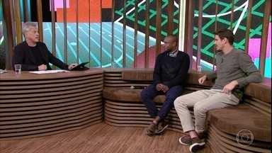 Thiaguinho e Bruninho falam sobre grupo de amigos no WhatsApp - Grupo badalado com Gabriel Medina e Neymar foi batizado de Diretoria