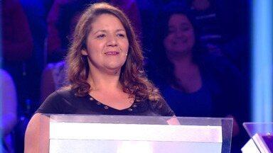 Susana Vieira conquista 10 Mil até agora no 'Quem Quer Ser Milionário?' - A participante continua no jogo e volta no próximo programa