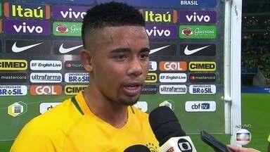 Gabriel Jesus fala sobre campanha do Brasil e vitória sobre o Chile - Gabriel Jesus fala sobre campanha do Brasil e vitória sobre o Chile