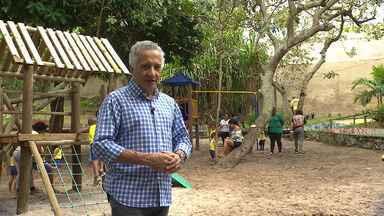 Bahia Rural é apresentado do parque ecológico de Lauro de Freitas; veja mais sobre o local - Espaço de 70 mil metros quadrados passou por uma reforma recentemente e está totalmente novo.