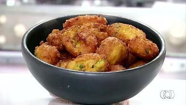 Veja como preparar uma receita de bolinho de milho com jiló - Veja como preparar uma receita de bolinho de milho com jiló