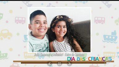 Dia das Crianças: telespectador participa do BMD enviando fotos da garotada - Veja as imagens enviadas por gente de toda a Bahia.