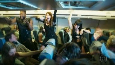 Alegria I - Voo de avião