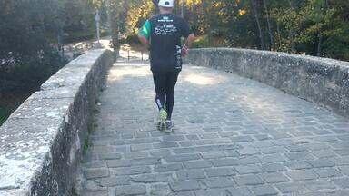 Veja o primeiro dia do desafio de Márcio Villar no Caminho de Santiago de Compostela - Ultramaratonista registra seus desafios no Caminho de Santiago de Compostela e busca novo recorde na famosa rota de peregrinação.