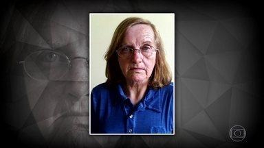 Mulher que mandou matar marido em SP é presa após ficar 22 anos foragida - Lúcia de Fátima Dutra Weisz foi encontrada dentro de um banco no Paraná. Policial que participou da primeira prisão dela ajudou na captura.