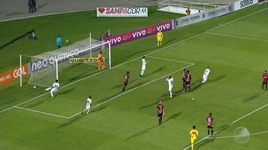 Vitória empata com o Santos no Pacaembu e partida termina em 2x2 - Partida aconteceu na última segunda-feira (16).