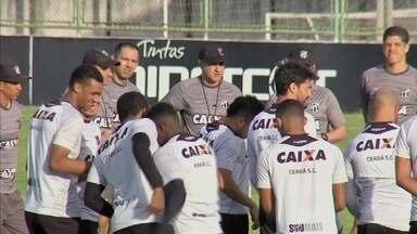 Ceará se prepara para enfrentar o Paraná - Ceará se prepara para enfrentar o Paraná