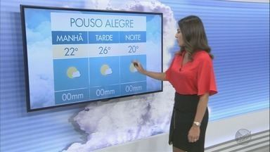 Confira a previsão do tempo para esta quarta-feira no Sul de Minas - Confira a previsão do tempo para esta quarta-feira no Sul de Minas