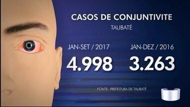 Aumentou número de pessoas com conjuntivite em Taubaté - Desde janeiro já são mais casos que em todo ano passado.