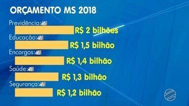 Projeto do orçamento de R$ 14,4 bilhões para 2018 chega à Assembleia Legislativa de MS - O governo de Mato Grosso do Sul encaminhou, nesta terça-feira (17), o projeto da Lei de Orçamento Anual (LOA) de 2018 para a Assembleia Legislativa. A proposta estima a receita e fixa a despesa em R$ 14.497.314.000, um aumento de R$ 505,3 milhões em relação a 2017.