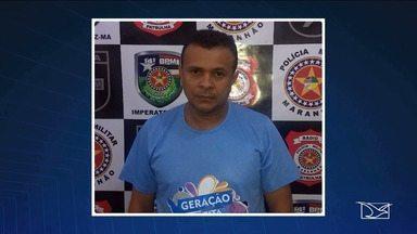 Professor é preso no Maranhão por suspeita de pedofilia - Professor da rede estadual de ensino de Davinópolis foi preso nesta terça-feira (17) em flagrante por suspeita de pedofilia