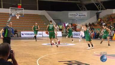 Universo Vitória estreia na Liga Sul-Americana de Basquete contra o Malvín, do Uruguai - Partida acontece no ginásio de esportes de Cajazeiras.