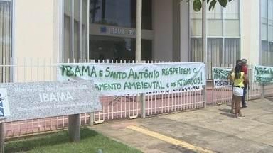 Movimento dos atingidos por barragens desocupam sede do Ibama em Porto Velho - A decisão foi tomada depois de uma reunião entre lideranças do movimento e representantes do ibama e da agência nacional de águas.