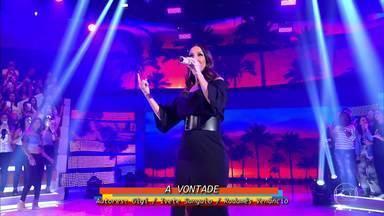"""Ivete Sangalo canta """"À Vontade"""" - Cantora agita a plateia do Caldeirão"""