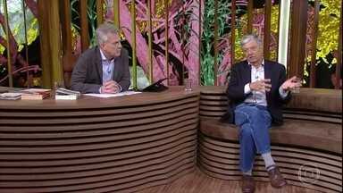 Jorge Caldeira faz um balanço da influência da política na economia brasileira - Bial questiona o escritor sobre as eleições democráticas