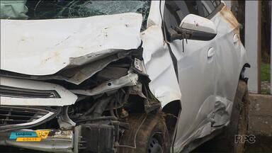 Polícia identifica motorista que atropelou e matou duas mulheres em Itaperuçu - Segundo a polícia, o rapaz não tem Carteira de Habilitação.