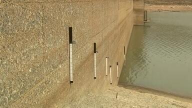 Reservatório do Descoberto atinge 9% no DF - Limite era o esperado para o final do mês.