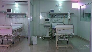 Hospital de Itumbiara suspende leitos de UTI pelo SUS - Com isso, treze cidades da região estão sem vaga em leitos de UTI pela rede pública.