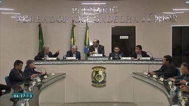Câmara de Maranguape, no Ceará, decide pelo afastamento de vereador que usou carro públic - A decisão sobre a saída definitiva de Kássio Rogaciano (PCdoB), contudo, passa por impasse em relação ao número de vereadores presentes na votação e, por isso, pode ser impugnada.