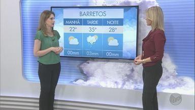 Confira a previsão do tempo para esta terça-feira (24) na região de Ribeirão Preto - Sol aparece e o tempo volta a esquentar.