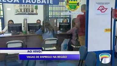Tem vagas de emprego disponíveis em Taubaté e outras cidades da região - São 31 vagas no balcão de empregos e 11 no PAT.
