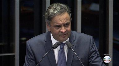 Conselho de Ética do Senado arquiva representação contra Aécio Neves - Presidente do Conselho, o senador João Alberto, acatou parecer da Advocacia Geral do Senado, segundo o qual a conduta de Aécio já foi julgada de forma definitiva.
