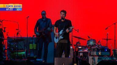 John Mayer se apresenta em Porto Alegre - Assista ao vídeo.