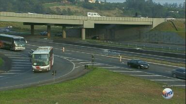 Alça de acesso para Rodovia Dom Pedro I tem mudanças a partir desta quarta; veja local - Concessionária informou que mudança não deve impactar o trânsito.