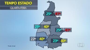 Confira a previsão do tempo para o estado nesta quarta-feira (25) - Confira a previsão do tempo para o estado nesta quarta-feira (25)